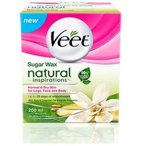 veet sugar wax natural inspirations £2.99 @ home bargains