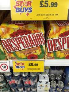 8 x 330ml Desperados for £8.99 INSTORE at Home bargains