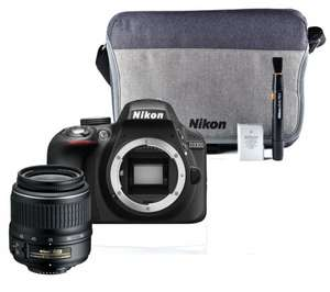 NIKON D3300 DSLR Camera, Zoom Lens & Accessory Kit Bundle £279 from Currys