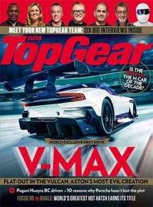Free Copy of Top Gear Magazine