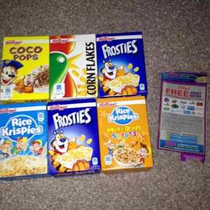 kellogg'S cereals 8pack with free adult entry to merlin attractions (inc London Eye) £1 @ poundland