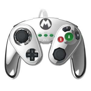 Metal Mario Wired Fight Pad (Wii U) £13.89 + £1.94 p&p shop4world