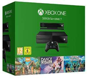 Xbox One 500Gb With Kinect and 3 game bundle £271.06 @ Amazon