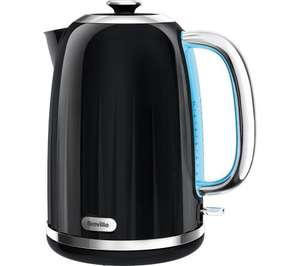 Boiling Hot Price! BREVILLE Impressions VKJ755 Jug Kettle - Black - Quality Kettle that boils water & looks funky! Price Inc Free Delivery / In Store Collection - Was: £69.99 Save £42.99! Easter Deal @ Currys Now: