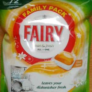 fairy dishwasher tablets 72 at Poundland for £6