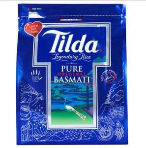 Tilda Pure Basmati Rice 4Kg (reduced to £6 from £10) at Tesco
