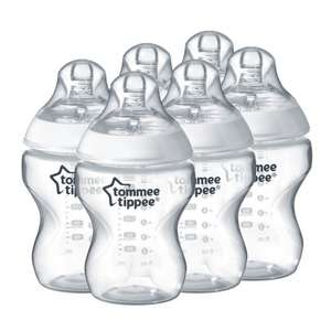 Tommee Tippee Closer to Nature Feeding Bottles - Pack of 6 £10 Del Prime / £13.99 Non Prime @ Amazon (price matched Asda -others in op))