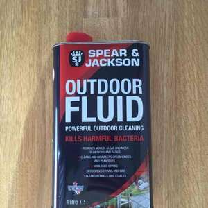 Spear and Jackson 1l outdoor fluid (Jeyes fluid) £3.99 @ B&M