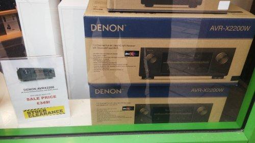 Denon AVR X2200W £349 @ SuperFi instore