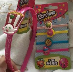 Shopkins Hair Accessories £1 each @ Poundland