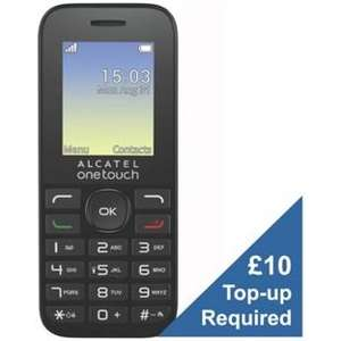 EE Alcatel 10.16 Mobile Phone £4.99 @ Argos (£10 top-up)