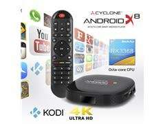 Sumvision Cyclone Android X8 4K Octa-Core Smart Android Player-(AVD0706) £44.98 + £2.99 del @ ccl online
