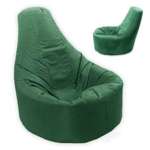 Large XXL Adult Bean Bag Gamer Recliner (Outdoor And Indoor) in British Racing Green £16.95 del @ Amazon (Dispatched from and sold by Gifts4Gardens)