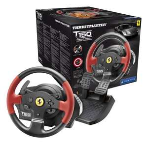 Thrustmaster T150 Ferrari Force Feedback Wheel (PS4/PS3/PC DVD) £97.99 @ Amazon