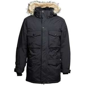 Dickies Mens Salt Lake Expedition Insulated Parka Black £37.99 + £4.49 del MandM Direct save £112 on rrp