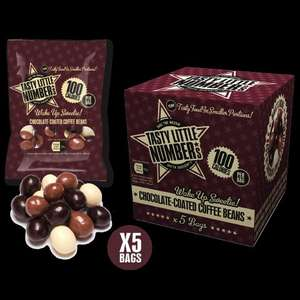Misson Mill Cash and Carry (Doncaster) - Tasty Little Numbers - Chocolate coated coffee beans or Bombay mix 36 bags in a box for £1