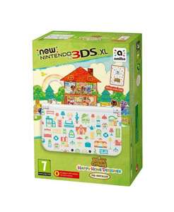 NEW 3DS XL Console + Animal Crossing: Happy Home Designer Amazon £159.99