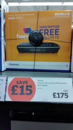 Humax HDR-1100S £175 @ Sainsburys