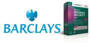 FREE Kaspersky Internet Security for Barclays Personal Customers. Also available: Kaspersky Safe Kids Total Security £2.99 (was £69.99)