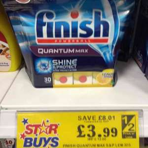Finish Powerball Quantum Max (30 Tabs) £3.99 @ Home Bargains (INSTORE ONLY)