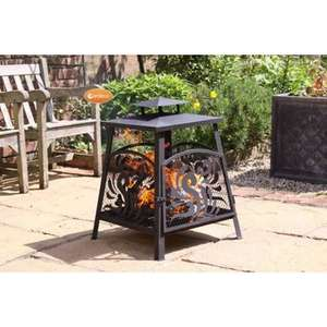 Garden fireplace £16.99 (reduced from £119) at Wayfair + £4.95 del