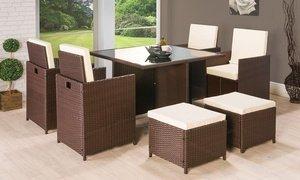 Rattan Cube Garden Furniture £279.98 delivered @ Groupon