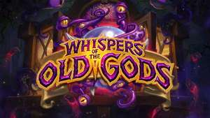 Hearthstone Expansion - Whispers of the Old Gods Pre-Order + 7 Free Card Packs @ Amazon (Coins) £32.50