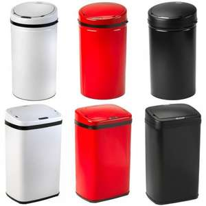 RUSSELL HOBBS LARGE KITCHEN HANDS FREE MOTION SENSOR Bin + Extra 10% Off Offer £34.99 @ pink_and_blue_gifts1 / Ebay