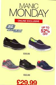 Expired.  Good price for selected Skechers at SOLETRADER OUTLET £29.99 + £2.99 P&P