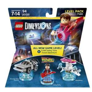 Lego Dimensions Back To The Future Level Pack $23.60/ £16.56 @ Amazon.com (PS4 Xbox One Wii PS3 360)