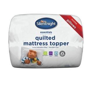 Silentnight Mattress Topper + 2 Pillow Set - 2x kingsize £36.38 (£18.24each from £39.99) 2x double size £28.98 (£14.49 each from £39.99) , double + single size set only £25.24 for both from £69.98 @ Argos