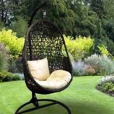 OUTDOOR SWINGING EGG CHAIR £100 @ B&M