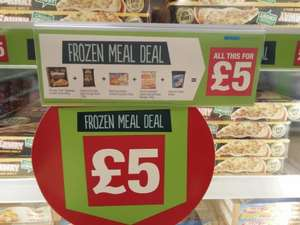 Co op frozen meal deal, pizza + dough balls + chicken goujons + potato wedges + Oreo ice cream £5.