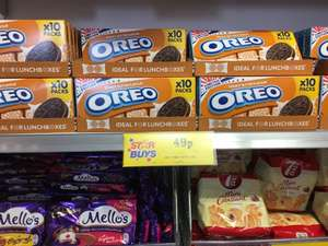 Oreo Peanut Butter 10x 2 biscuit packs 49p in Home Bargains
