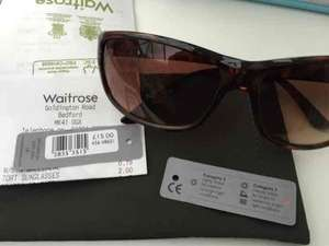 WAITROSE - Various Sunglasses reduced to £2 instore