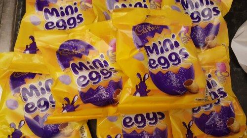 Cadbury, Smarties, Galaxy Mini eggs 90g & more 50p @ Co-op food (45p with NUS)
