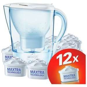 Brita Marella Water Filter Jug and 12 Cartridges - White for £28.99 with Code HOME25 and Fast Track @ Argos