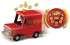 Postman pat drive and steer remote control van was £32.99 now £2.99 delivered @bbc shop