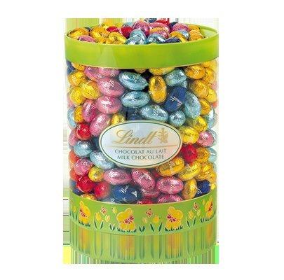 Lindt Solid Mini Milk Eggs Drum 2Kg £20.50 + £3.95 P+P @ Lindt