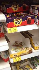 Cadbury's Creme Egg 25p Reduced to Clear in store @ Tesco