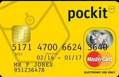Amazon Exclusive Offer: FREE £5. The Award Winning Pockit Card - just 99p.