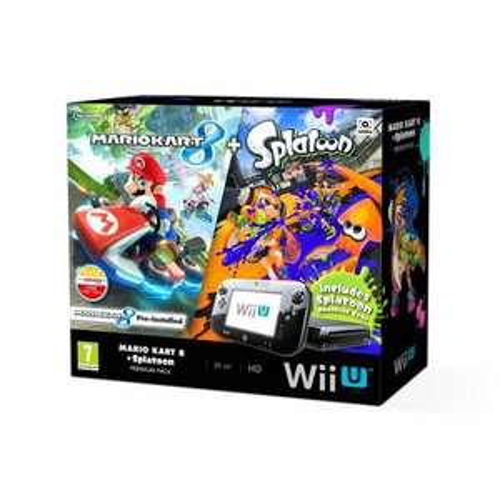 Wii U Console 32GB + Mario Kart 8 + Splatoon £219.99 @ Smythstoys