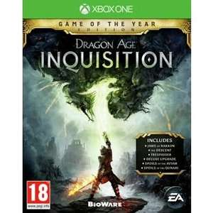 Dragon Age: Inquisition - Game of the Year Edition (PS4/Xbox One) £12.99 @ Argos