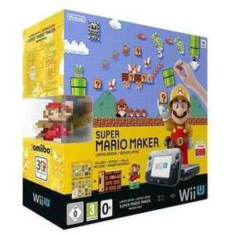 Nintendo Wii U Premium Pack Mario Maker, Artbook, amiibo - £199 using code! @ rakuten / pixelelectronics