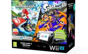 Nintendo Wii U Premium with Mario Kart 8 & Splatoon DLC £194.65 delivered from Pixel Electronics / Rakuten