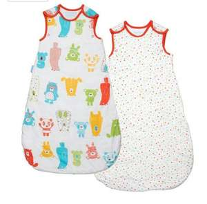 Grobag wash and Wear spotty bear 2.5 tog 2 pack £20 @ Amazon