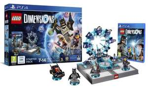 Lego Dimensions Starter Pack PS4 £15 @ Sainsburys instore