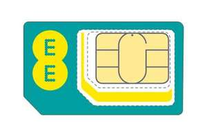 EE 4G SIM 16 GB Unlimited minutes & Text 12 months plan (Was £34.99) £16.49 p/m @ EE (existing customers only / multiplan discount)