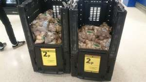 Tesco White Potatoes 2.5kg 2p instore - Stafford, potentially national