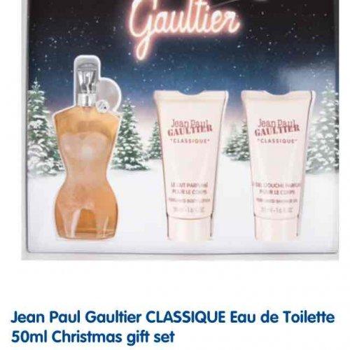JEAN PAUL GALTIER CLASSIQUE GIFT SET £25.50 @ Boots